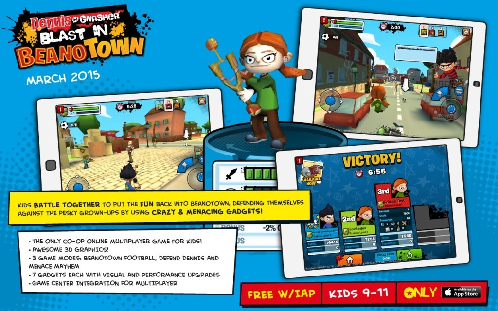 The Beano launches first 3D multiplayer action game