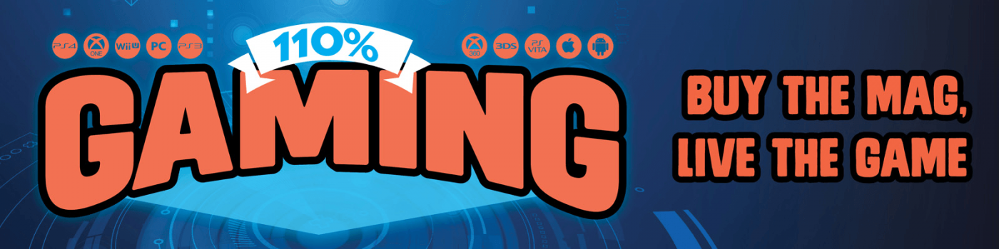 110% Gaming Banner