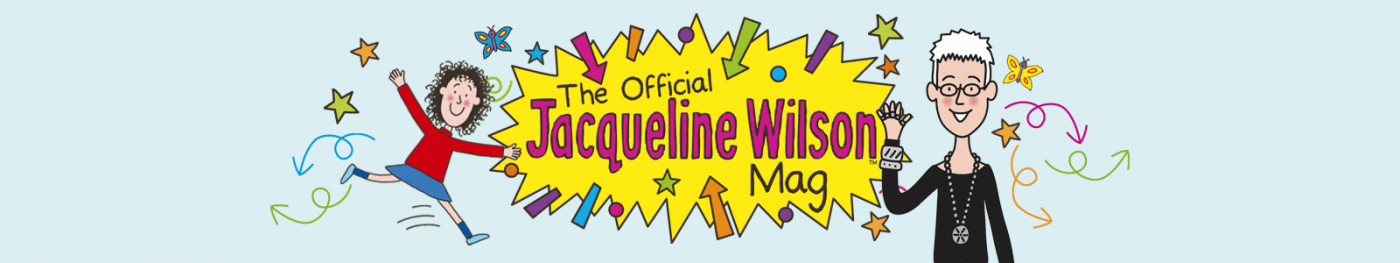 Jacqueline Wilson Magazine Banner