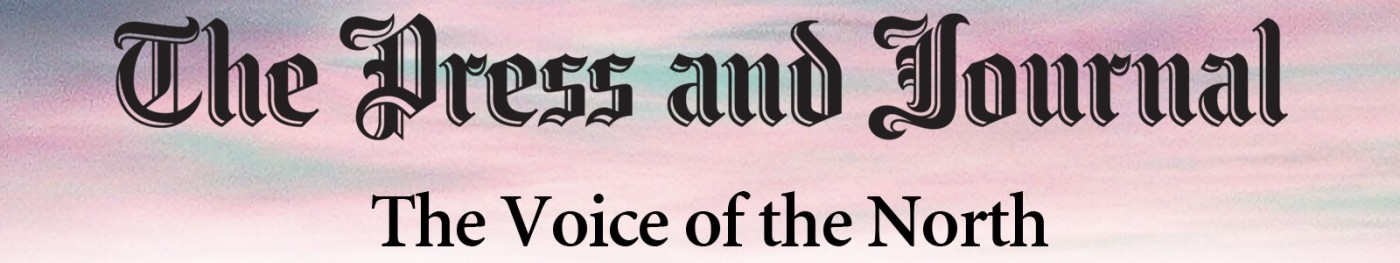 Press and Journal banner image.