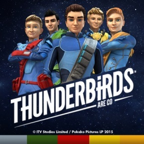 Thunderbirds Magazine logo
