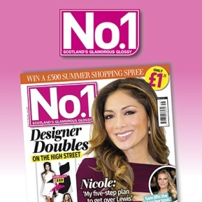 No.1 Magazine logo