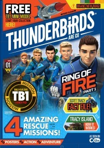 Thunderbirds Are Go – F.A.B. Launch as DC Thomson Releases Official Magazine