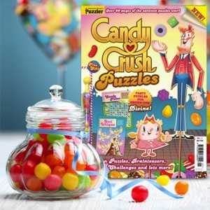 Puzzler Media to bring Candy Crush to print!