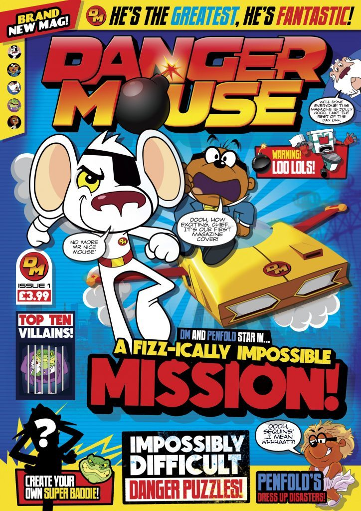 DC Thomson launch Danger Mouse magazine