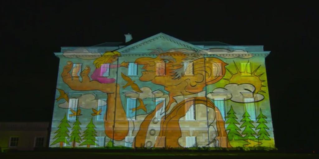 Puzzler stage gloriumptious puzzle to honour Roald Dahl