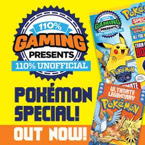 110% Gaming presents Pokemon Special logo
