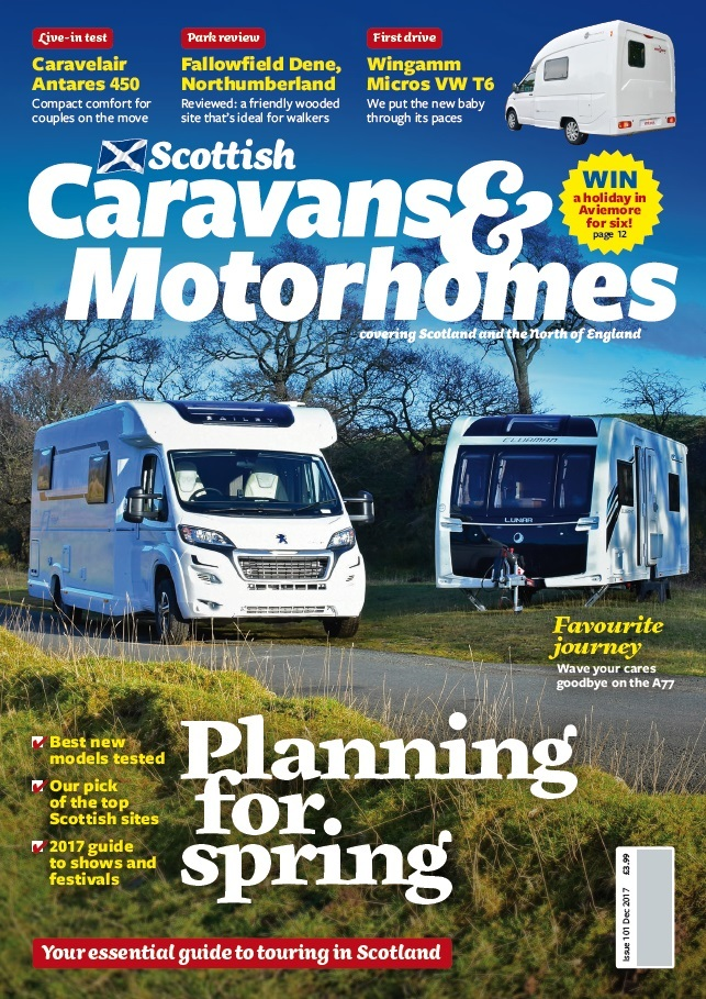 DC Thomson launches Scottish Caravans & Motorhomes, the definitive guide to touring in Scotland