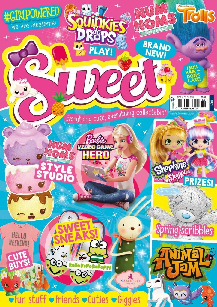 DC Thomson launches Sweet magazine